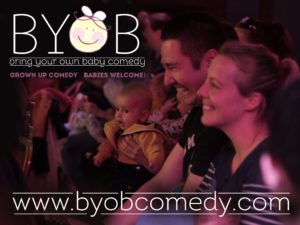 Image of baby comedy show