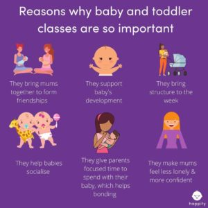 Happity working with the Government to get baby classes back as soon as possible