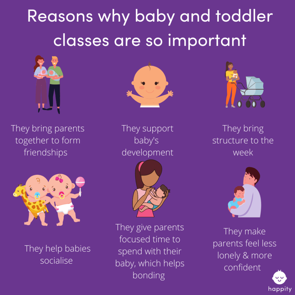 why baby classes are so important