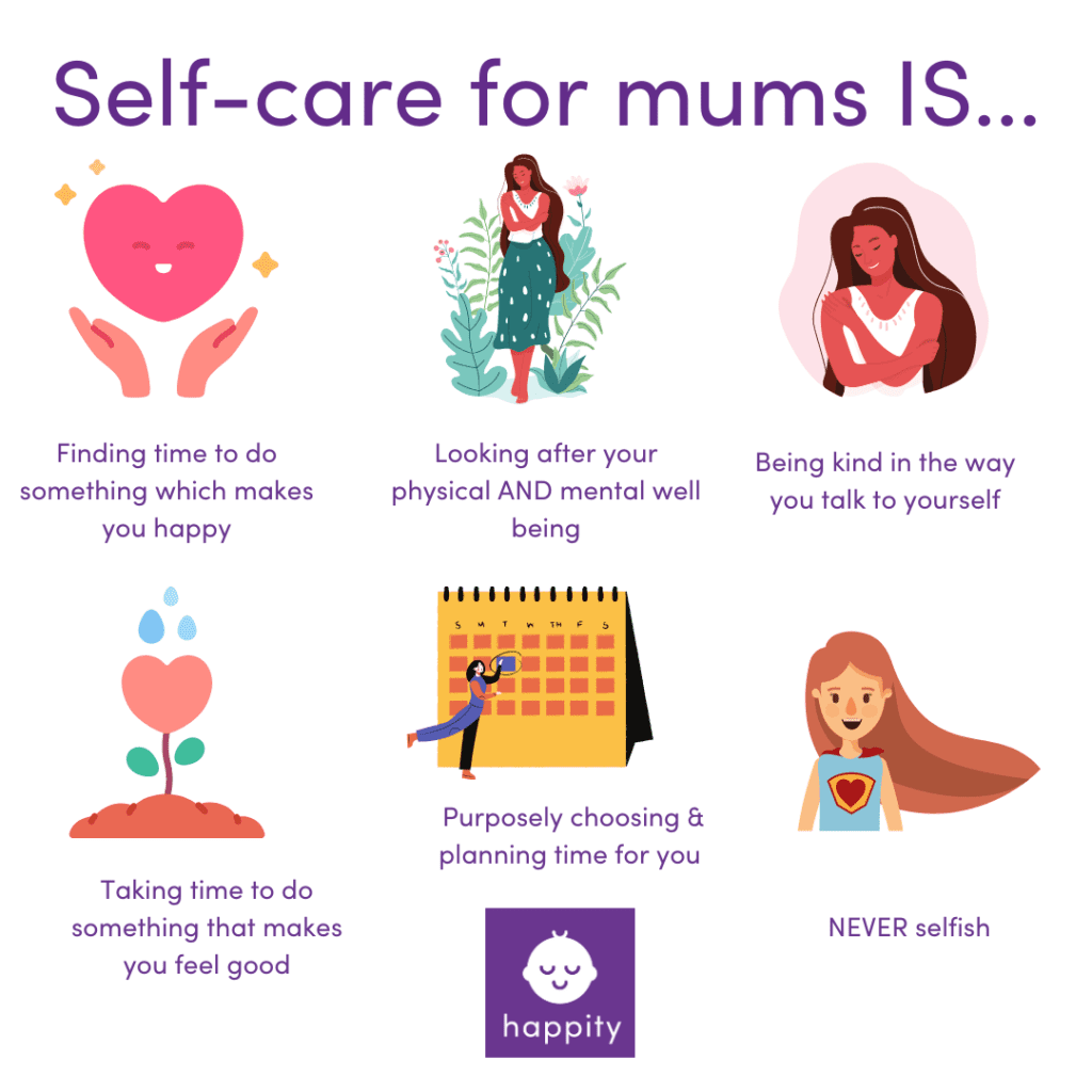 self care for mums