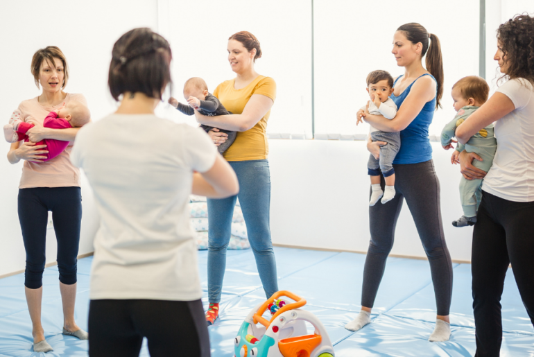 nervous about returning to indoor parent and child classes