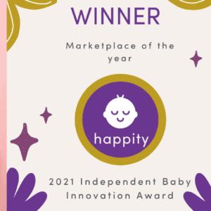 Happity has won a prestigious award