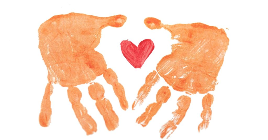 Child like finger painting relating to weight loss tips for mums