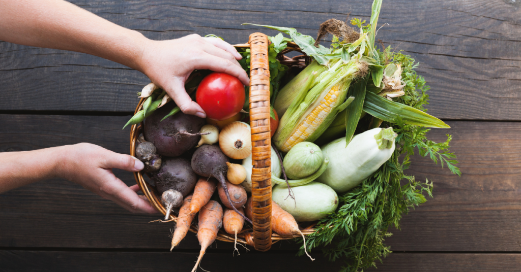 Introducing fruit and vegetables into your diet can really help to improve your mood